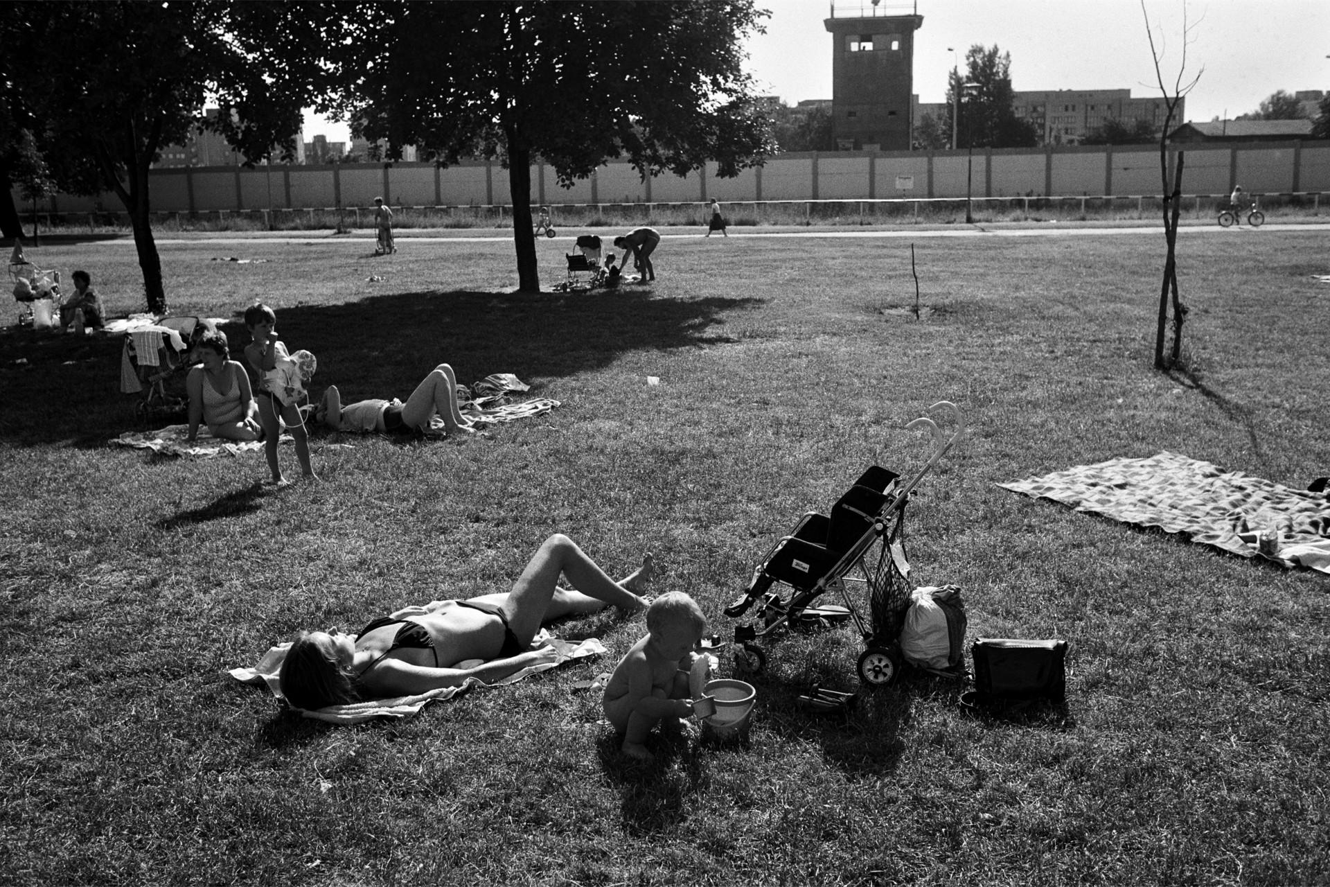 Berliner Mauer / Grenzstreifen
